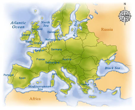 Europe vacation packages for England, France, Greece, Ireland, Italy ...