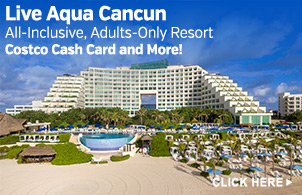 Vacation Package for Live Aqua Cancun